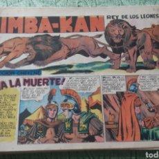 Tebeos: TEBEOS-COMICS GOYO - SIMBA KAN 29 - MARCO 1959 - ORIGINAL - AA98. Lote 214205086