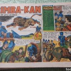 Tebeos: TEBEOS-COMICS GOYO - SIMBA KAN 31 - MARCO 1959 - ORIGINAL - AA98. Lote 214213886