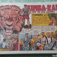 Tebeos: TEBEOS-COMICS GOYO - SIMBA KAN 33 - MARCO 1959 - ORIGINAL - AA98. Lote 214214482