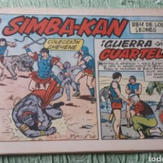 Tebeos: TEBEOS-COMICS GOYO - SIMBA KAN 44 - MARCO 1959 - ORIGINAL - AA98. Lote 214220113