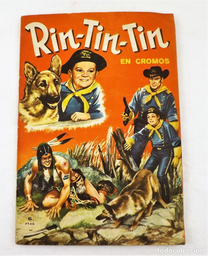 RIN TIN-TIN ALBUM COMPLETO. 228 CROMOS (Tebeos y Comics - Marco - Rin-Tin-Tin)