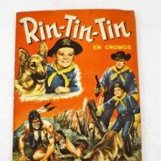 Tebeos: RIN TIN-TIN ALBUM COMPLETO. 228 CROMOS. Lote 216674488