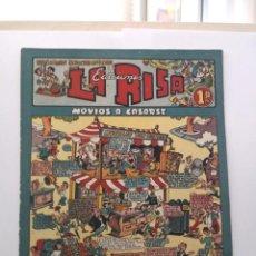 Tebeos: NÚMERO 1 DE LA RISA. MARCO 1952. RARÍSIMO. Lote 218177028