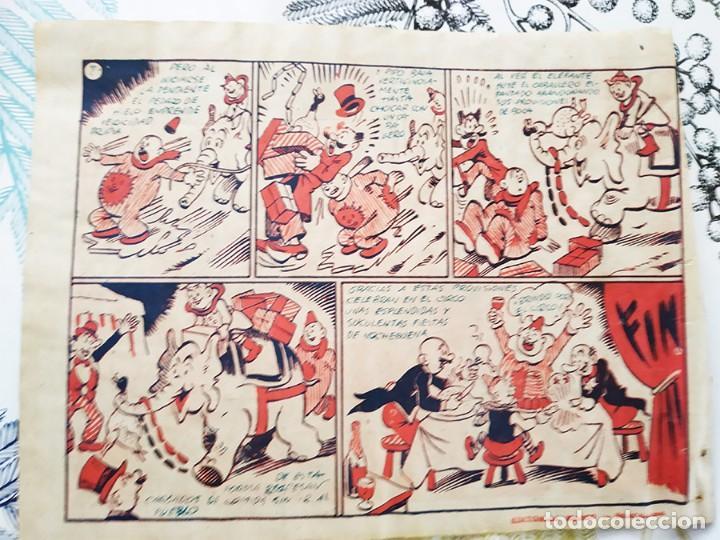 Tebeos: NOCHEBUENA EN EL CIRCO COLECCION ACROBATICA INFANTIL E. BOIX Ed. MARCO 1942 - Foto 3 - 218251735