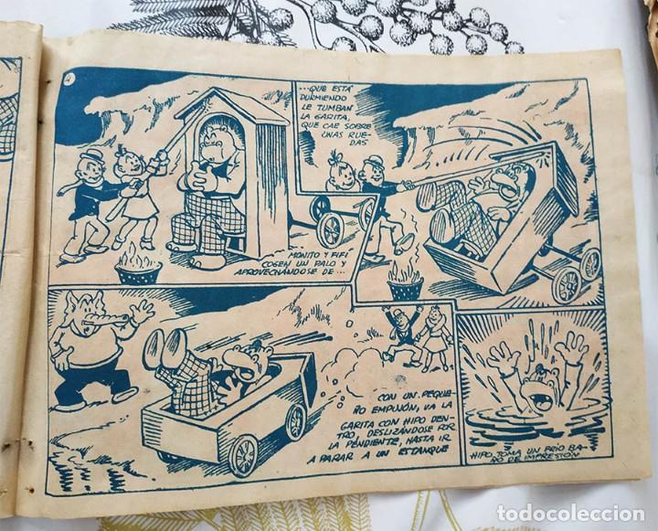 Tebeos: HIPO PASTEL NAVIDEÑO BIBLIOTECA ESPECIAL PARA NIÑOS Ed.. MARCO ORIGINAL DE EPOCA - Foto 2 - 218340556