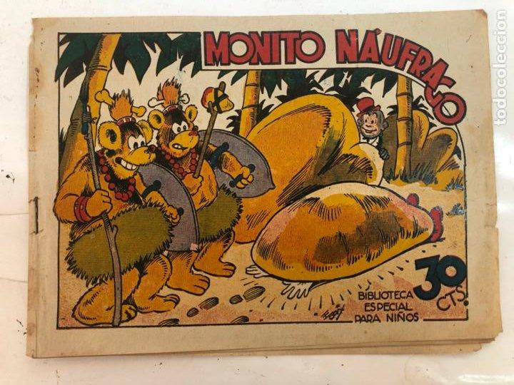 BIBLIOTECA ESPECIAL PARA NIÑOS - MONITO NAUFRAGO - MARCO (Tebeos y Comics - Marco - Hipo (Biblioteca especial))