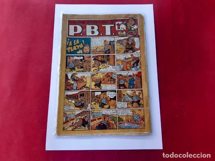 PÁGINAS DIVERTIDAS DE P.B.T. EDIT. MARCO. 1940 (Tebeos y Comics - Marco - Otros)