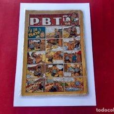 Tebeos: PÁGINAS DIVERTIDAS DE P.B.T. EDIT. MARCO. 1940. Lote 219082087