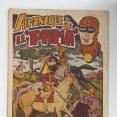Tebeos: EL PUMA, ALMANAQUE EDITORIAL MARCO 1954. Lote 219988653