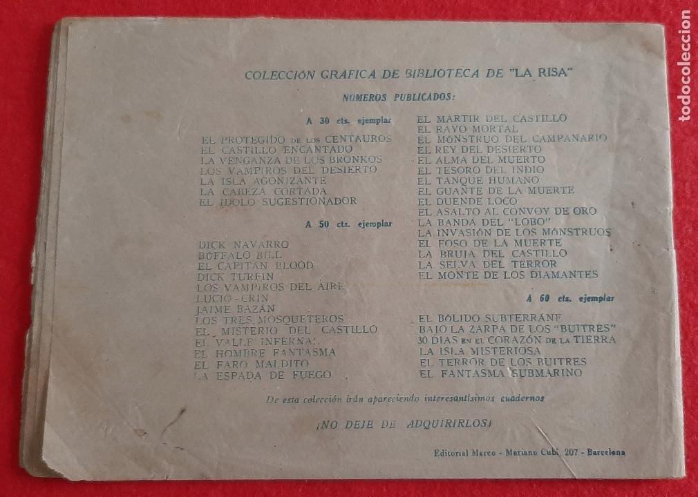 Tebeos: UN DUELO SINIESTRO GRAN COLECCION AVENTURAS CLASICAS ORIGINAL CT2 - Foto 2 - 220076667