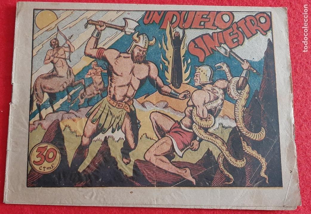 UN DUELO SINIESTRO GRAN COLECCION AVENTURAS CLASICAS ORIGINAL CT2 (Tebeos y Comics - Marco - Otros)