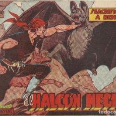 Tebeos: EL HALCON NEGRO - SACRIFICADO A BENU - ORIGINAL. Lote 220973107