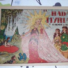 BDs: EL HADA MYRIA, CUENTO DE HADAS. Lote 221294771