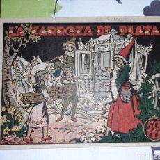 BDs: LA CARROZA DE PLATA, CUENTO DE HADAS. Lote 221297357