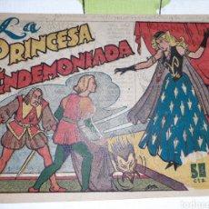 BDs: LA PRINCESA ENDEMONIADA, CUENTO DE HADAS, EMILIO BOIX. Lote 221298762