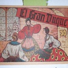 Giornalini: EL GRAN DUQUE, CUENTO DE HADAS. Lote 221299007