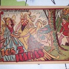 BDs: LAS 3 HADAS, CUENTO DE HADAS, EMILIO BOIX. Lote 221301076