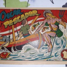 Giornalini: OSCAR EL PESCADOR, CUENTO DE HADAS, EMILIO BOIX. Lote 221358988