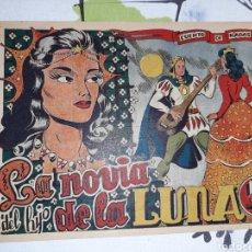 Giornalini: LA NOVIA DEL HIJO DE LA LUNA, CUENTO DE HADAS, MARTINEZ. Lote 221364607