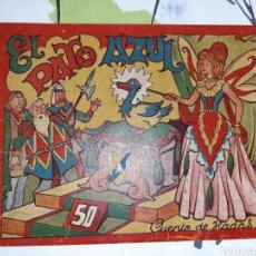 Tebeos: EL PATO AZUL, CUENTO DE HADAS, EMILIO BOIX. Lote 221364806