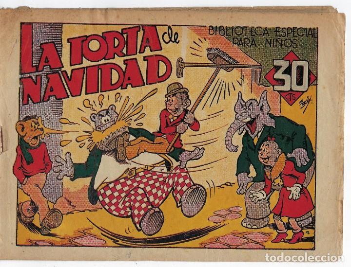 BIBLIOTECA ESPECIAL PARA NIÑOS: LA TORTA DE NAVIDAD - 1942 - ORIGINAL ***EDITORIAL MARCO *** (Tebeos y Comics - Marco - Hipo (Biblioteca especial))