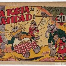 Tebeos: BIBLIOTECA ESPECIAL PARA NIÑOS: LA TORTA DE NAVIDAD - 1942 - ORIGINAL ***EDITORIAL MARCO ***. Lote 222014968