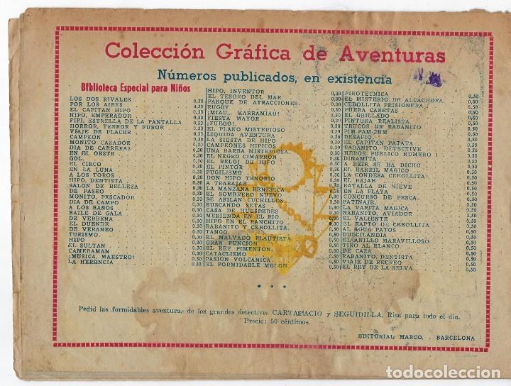 Tebeos: BIBLIOTECA ESPECIAL PARA NIÑOS: LA TORTA DE NAVIDAD - 1942 - ORIGINAL ***EDITORIAL MARCO *** - Foto 2 - 222014968