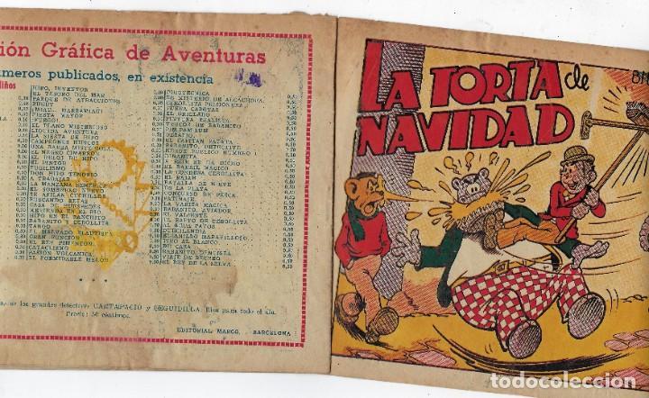 Tebeos: BIBLIOTECA ESPECIAL PARA NIÑOS: LA TORTA DE NAVIDAD - 1942 - ORIGINAL ***EDITORIAL MARCO *** - Foto 3 - 222014968