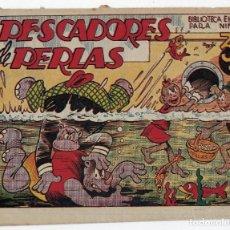 Tebeos: BIBLIOTECA ESPECIAL PARA NIÑOS: PESCADORES DE PERLAS - 1942 - ORIGINAL ***EDITORIAL MARCO ***. Lote 222015432