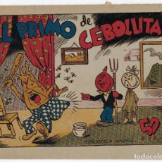 Tebeos: BIBLIOTECA INFANTIL: EL PRIMO DE CEBOLLITA - Nº 67 - AÑO 1942 *** EDITORIAL MARCO ***. Lote 222017336