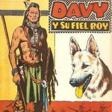 Tebeos: DAVY Y SU FIEL ROY- Nº 295 -EL HIJO DEL CORONEL-J.ROSELLÓ-J.CASTILLO-BUENO-DIFÍCIL-1967-LEA-3926. Lote 222167823