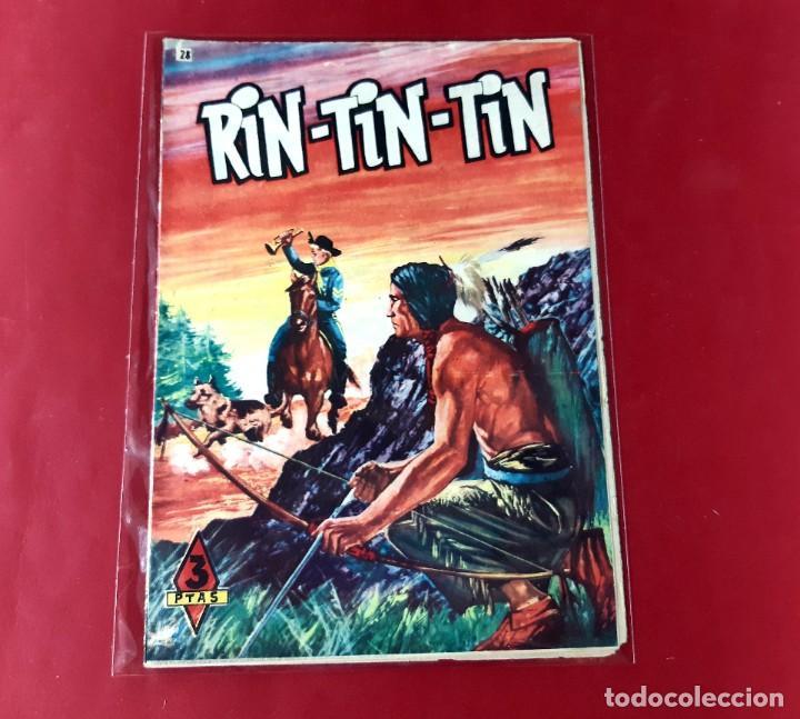 RIN-TIN-TIN -NUMERO 28 EDITORIAL MARCO (Tebeos y Comics - Marco - Rin-Tin-Tin)