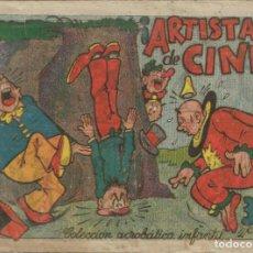 Tebeos: COLECCIÓN ACROBÁTICA INFANTIL ARTISTAS DE CINE ORIGINAL. 30 CTS AÑO 1942. Lote 224859670