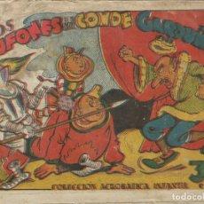 Tebeos: COLECCIÓN ACROBÁTICA INFANTIL LOS BUFONES DEL CONDE GAROUÑA ORIGINAL. 30 CTS AÑO 1942. Lote 224860428