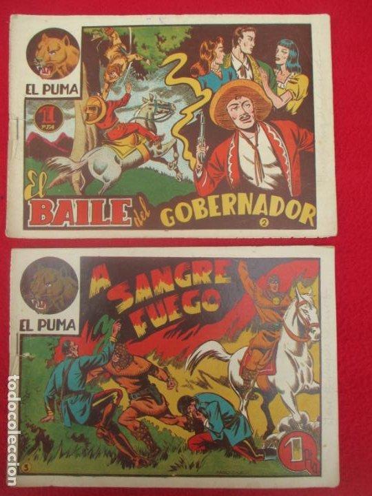 Tebeos: LOTE 48 TEBEOS EL PUMA 1ª SERIE MARCO ORIGINAL - Foto 2 - 224962356