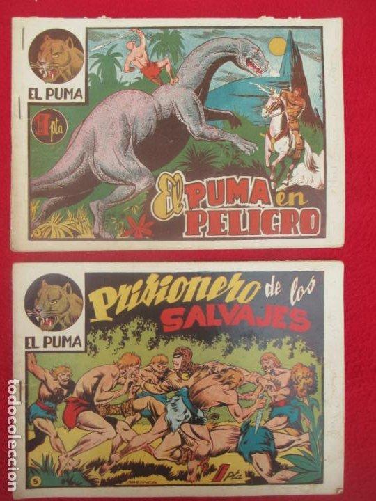 Tebeos: LOTE 48 TEBEOS EL PUMA 1ª SERIE MARCO ORIGINAL - Foto 4 - 224962356