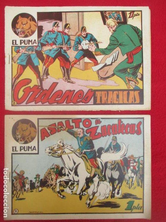 Tebeos: LOTE 48 TEBEOS EL PUMA 1ª SERIE MARCO ORIGINAL - Foto 8 - 224962356