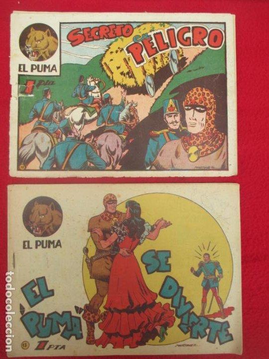 Tebeos: LOTE 48 TEBEOS EL PUMA 1ª SERIE MARCO ORIGINAL - Foto 12 - 224962356