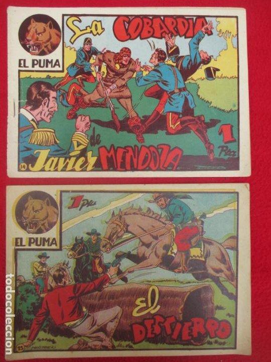 Tebeos: LOTE 48 TEBEOS EL PUMA 1ª SERIE MARCO ORIGINAL - Foto 14 - 224962356