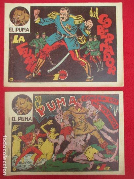 Tebeos: LOTE 48 TEBEOS EL PUMA 1ª SERIE MARCO ORIGINAL - Foto 16 - 224962356