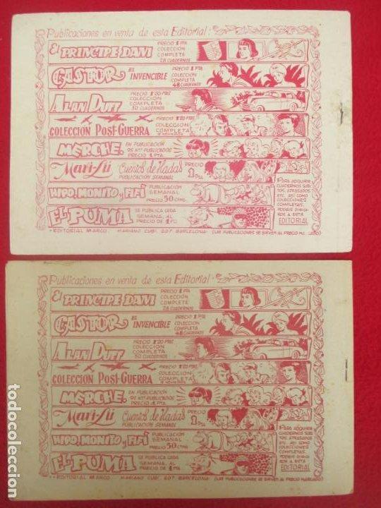 Tebeos: LOTE 48 TEBEOS EL PUMA 1ª SERIE MARCO ORIGINAL - Foto 19 - 224962356