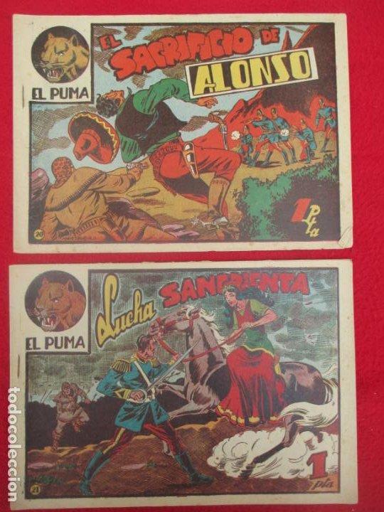 Tebeos: LOTE 48 TEBEOS EL PUMA 1ª SERIE MARCO ORIGINAL - Foto 20 - 224962356