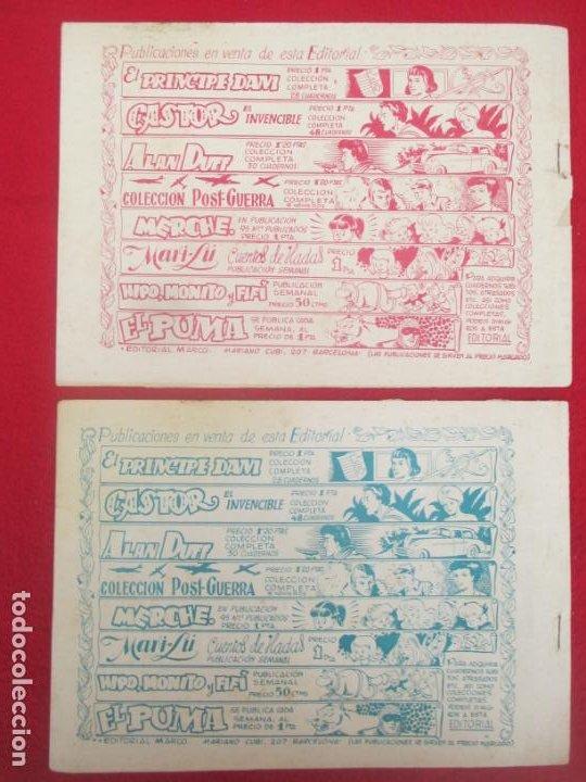Tebeos: LOTE 48 TEBEOS EL PUMA 1ª SERIE MARCO ORIGINAL - Foto 23 - 224962356