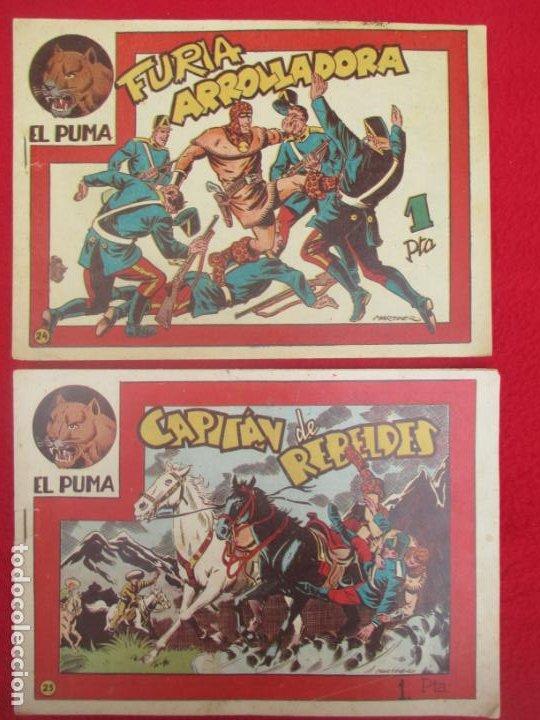 Tebeos: LOTE 48 TEBEOS EL PUMA 1ª SERIE MARCO ORIGINAL - Foto 24 - 224962356