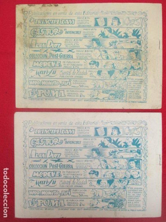Tebeos: LOTE 48 TEBEOS EL PUMA 1ª SERIE MARCO ORIGINAL - Foto 25 - 224962356