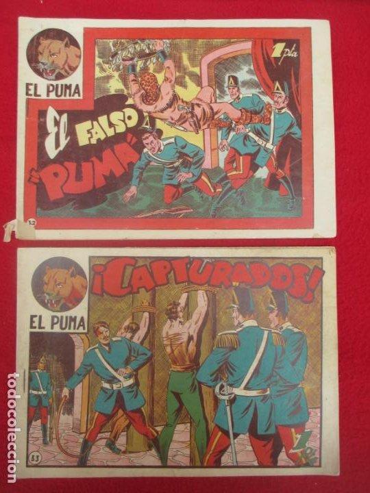 Tebeos: LOTE 48 TEBEOS EL PUMA 1ª SERIE MARCO ORIGINAL - Foto 26 - 224962356