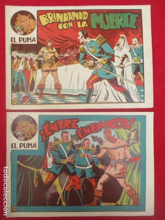 Tebeos: LOTE 48 TEBEOS EL PUMA 1ª SERIE MARCO ORIGINAL - Foto 28 - 224962356