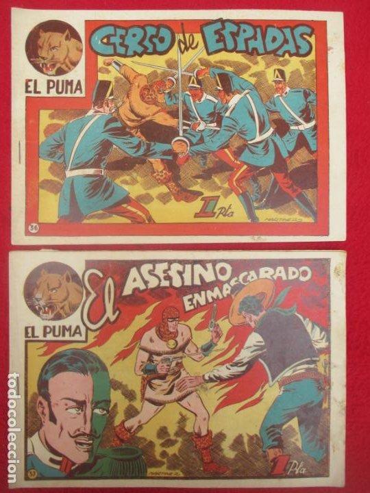 Tebeos: LOTE 48 TEBEOS EL PUMA 1ª SERIE MARCO ORIGINAL - Foto 30 - 224962356