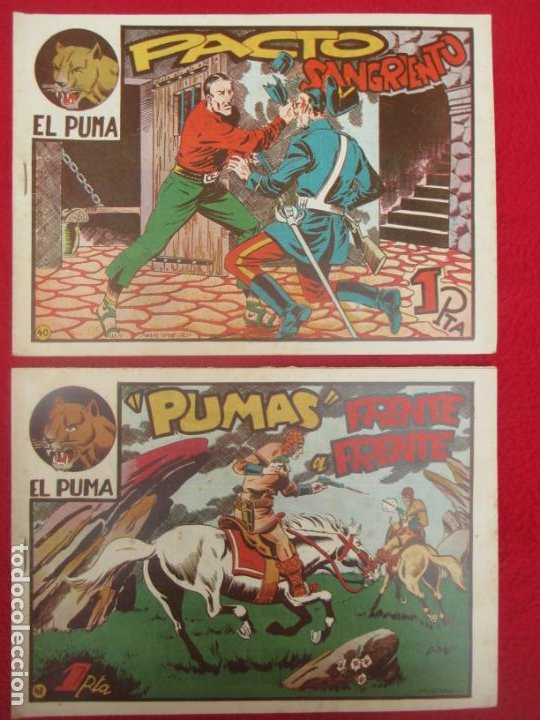 Tebeos: LOTE 48 TEBEOS EL PUMA 1ª SERIE MARCO ORIGINAL - Foto 34 - 224962356