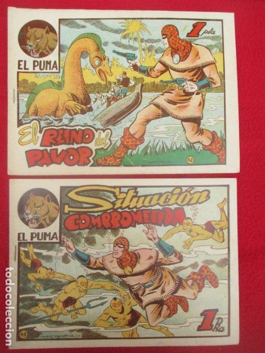 Tebeos: LOTE 48 TEBEOS EL PUMA 1ª SERIE MARCO ORIGINAL - Foto 36 - 224962356